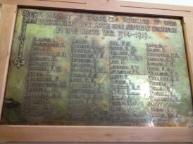 Memorial Roll